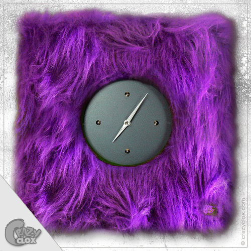 "Wanduhr ""Crazy Clock-Fluffy"""