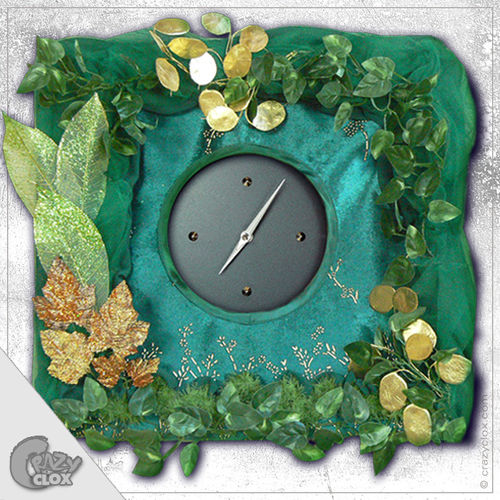 "Wanduhr ""Crazy Clock-Magic Forest"