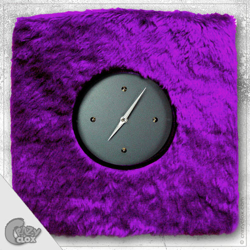 "Wanduhr ""Crazy Clock-Teddy"""