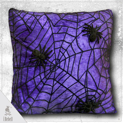 Decorative cushion Spider