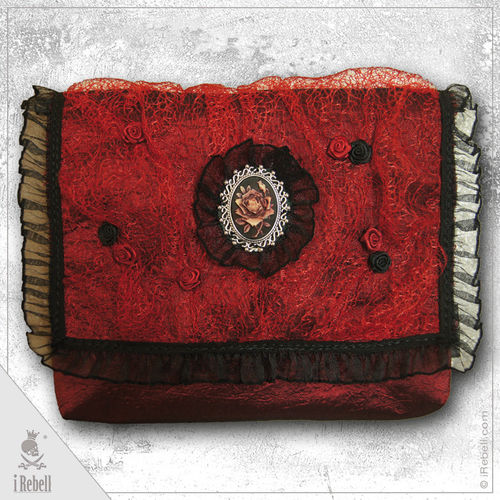 belt bag Red Rose