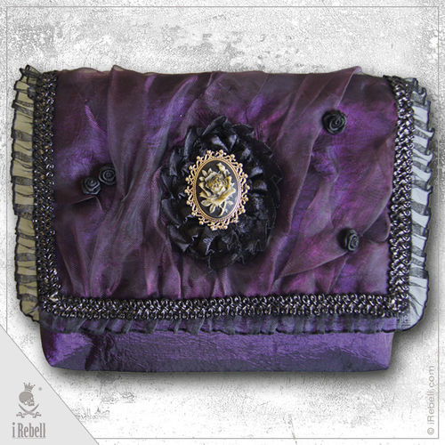 belt bag Purple Rose
